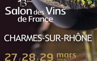 Salon des vins de France, Charmes sur Rhone