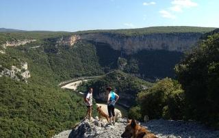Le trail des gorges de l'Ardèche se prépare