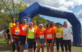 Trail des gaulois marathon ardeche