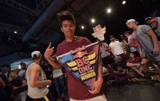 Willy Hem Red Bull BC One France cypher