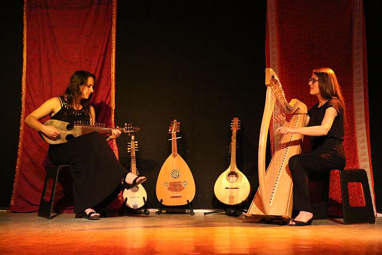 Ishtar Duo nous fait voyager de l'Irlande aux Balkans