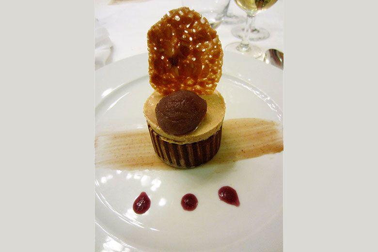 Recette de dessert de Raymond Laffont : Délice châtaigne
