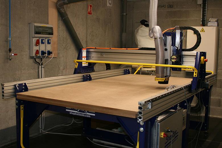La Fabritech : atelier de fabrication collaboratif et multi-usage