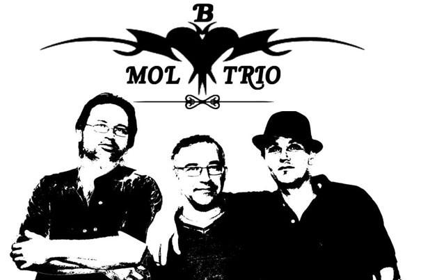 Le logo de B-mol trio