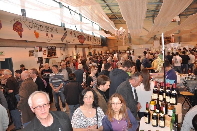 14 me salon des vins de france charmes sur rh ne for Salon des vins de france