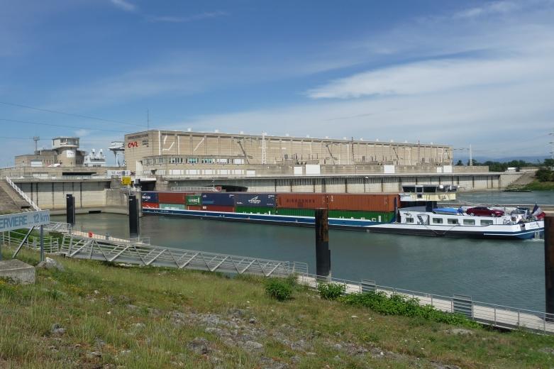 Centrale Hydro électrique de Beauchastel