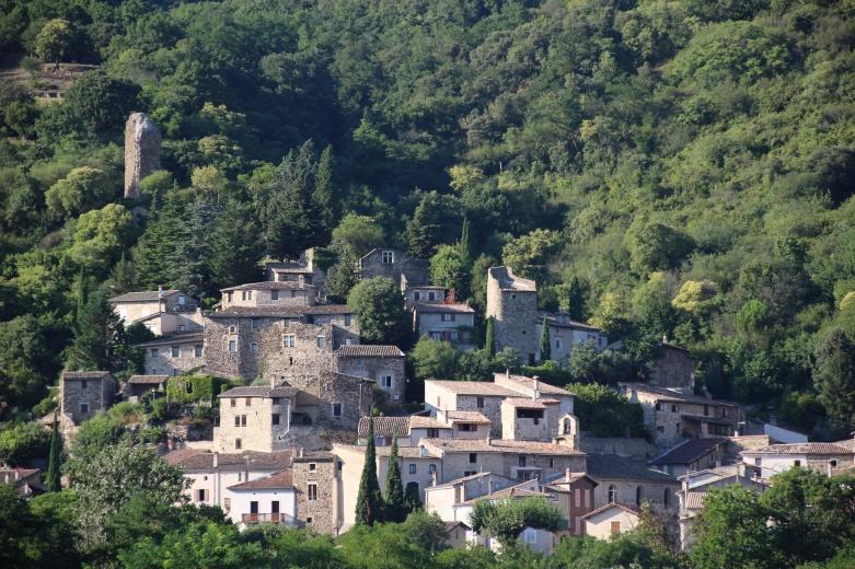 Vieux village de Beauchastel
