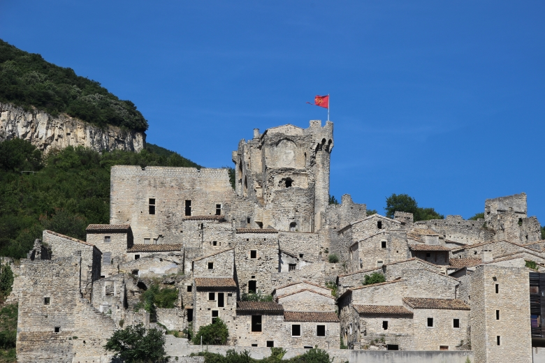 Le château et site medieval Cruas