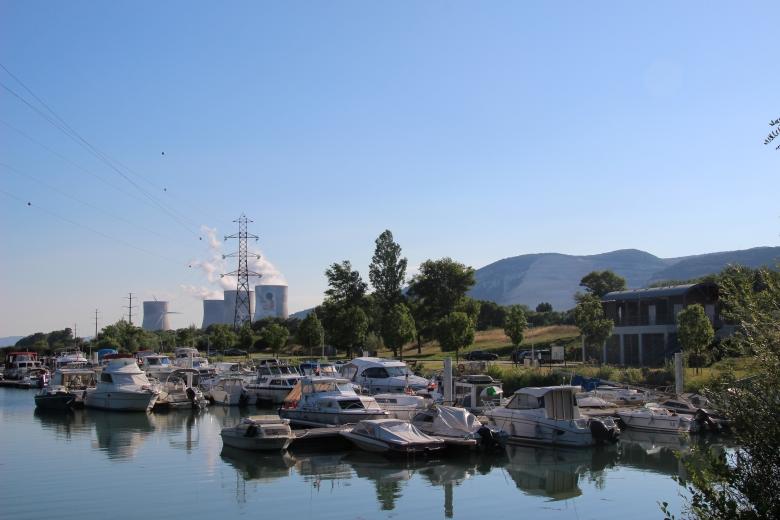 Le port - Cruas - Ardeche-actu - 2016