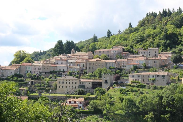 Vue village Chalencon