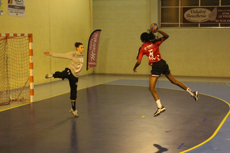 Handball nationale 1 Le Pouzin - Bouillargues