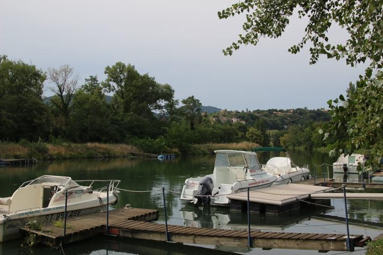 Le port - Charmes sur Rhône - Ardeche-actu - 2016