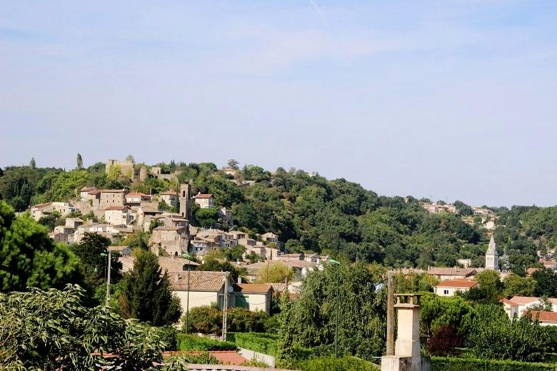 Vue générale Charmes-sur-Rhône