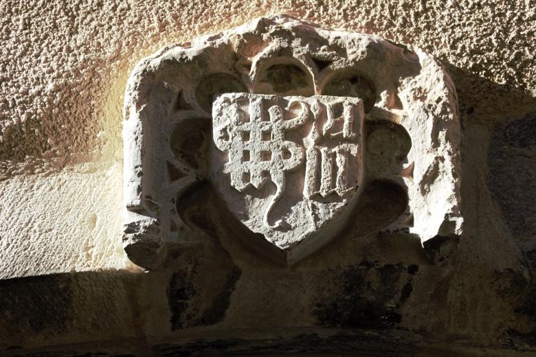 Cartouche gothique - Rochemaure - Ardeche-actu - 2016