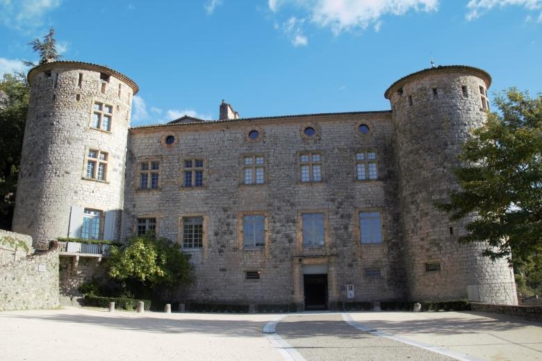 Château de Voguë - Ardeche-actu - 2016