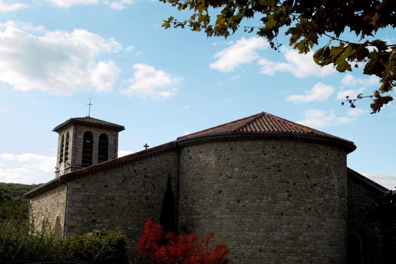 L'église - Ardeche-actu - 2016