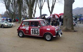 Mini rallye Monte Carlo historique