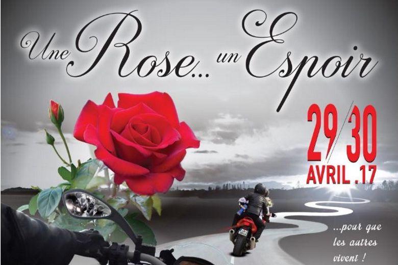 Les motards toujours plus nombreux pour Une rose, un espoir
