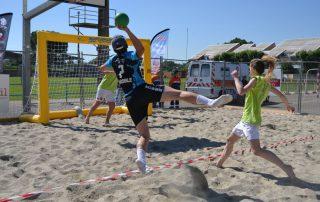 1ere édition sandball Le Teil