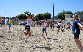 Deuxième édition sandball Le Teil