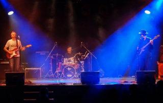 The Burning Fingers en concert