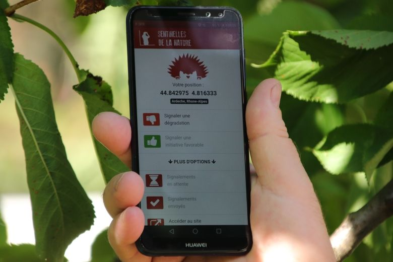 Application Sentinnelle de la nature